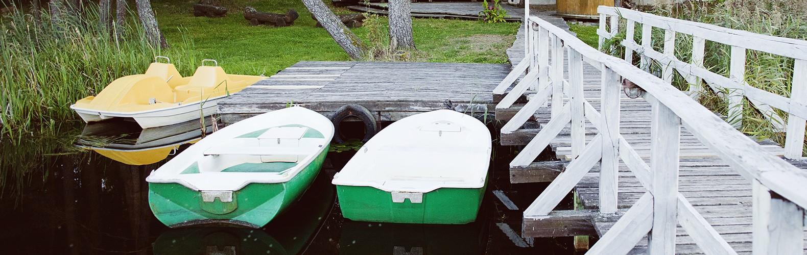 Lauko pramoga – pasiplaukiojimas valtimi | Kernavės bajorynė