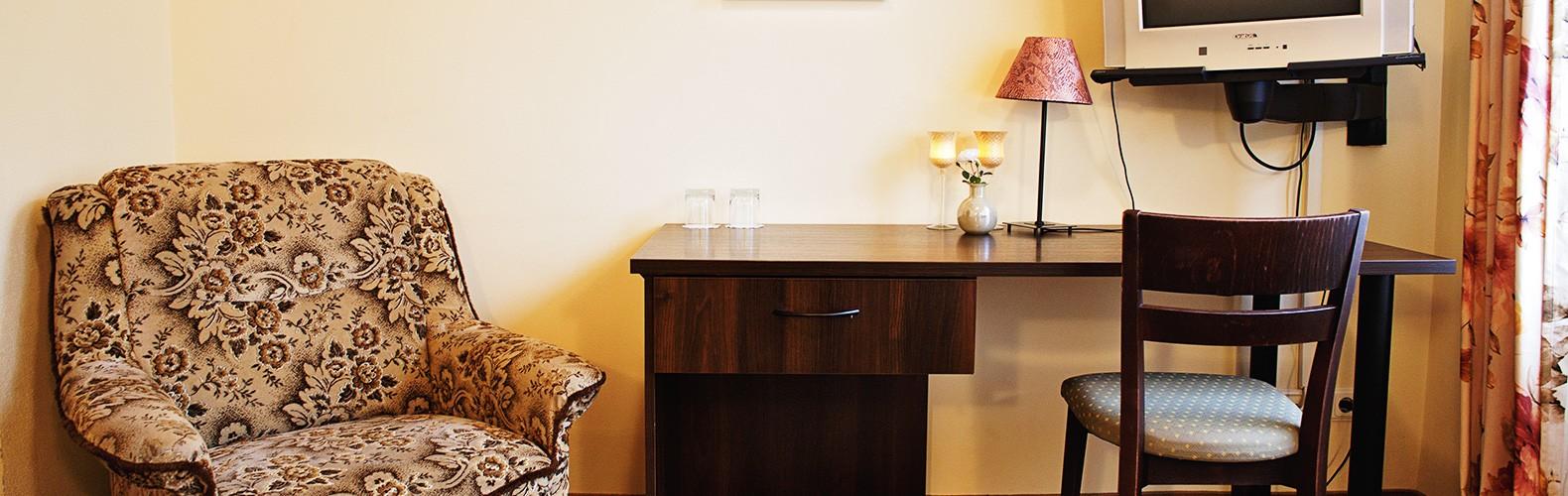 Standartinis dvivietis kambarys | Kernavės bajorynė