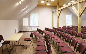 Didžioji konferencijų salė,  plotas 300 x 188 m | Kernavės bajorynė